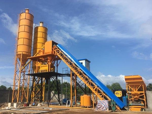 AJ-60 concrete plant Pakistan