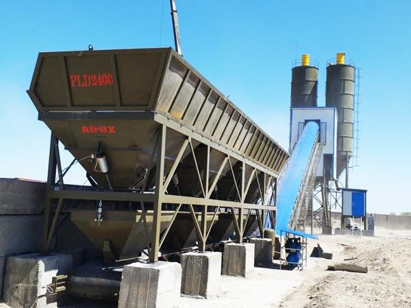 AJ-90 belt concrete plant