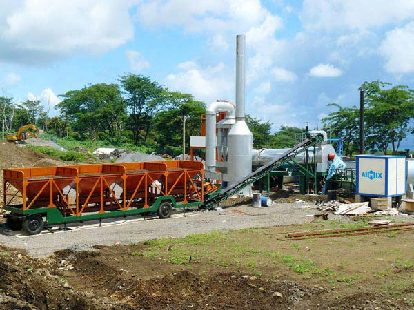 ALT60 asphalt drum mixer plant