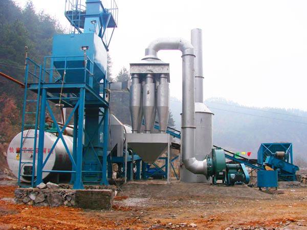 ALT80 drum asphalt mixer plant