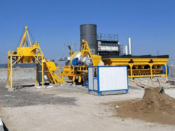 ALYJ-10 mini portable asphalt plant