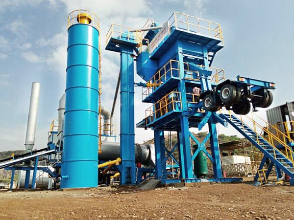 ALYQ40 mobile asphalt batch plant
