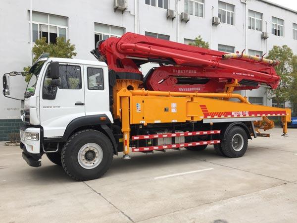 37m pump truck