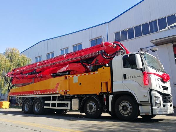 50m concrete boom truck