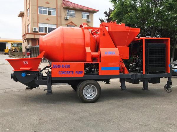 ABJZ40C concrete mixer pump diesel