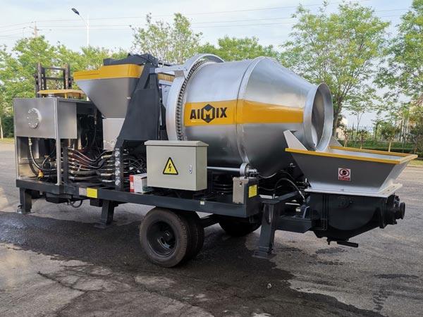 ABJZ40C diesel concrete mixer pump