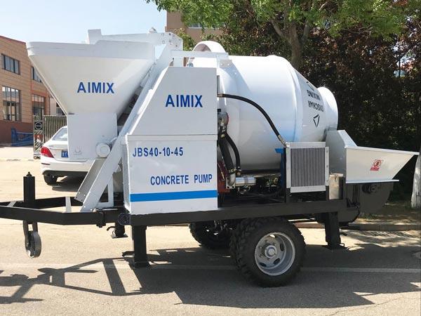 ABJZ40D portable electric mixer pump