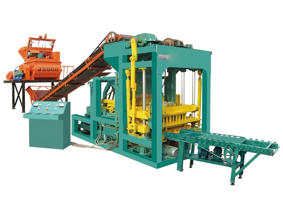 ABM-6S auto bricks machine
