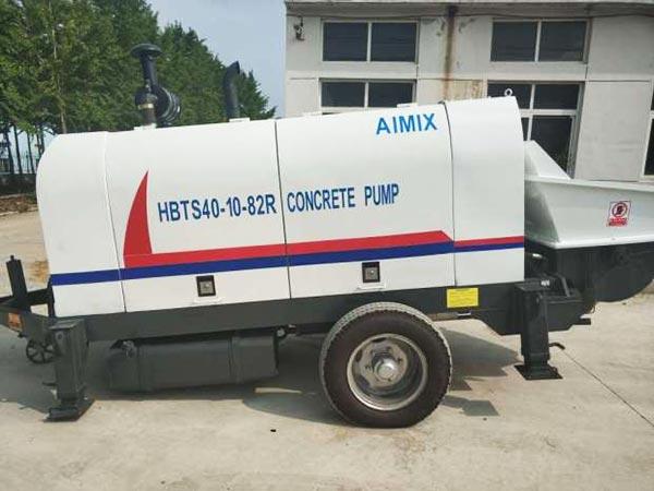 ABT40C portable concrete pump diesel