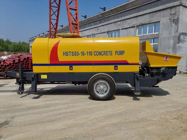 ABT80D electric concrete pumping machine