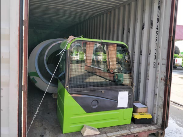 delivery of self mixer
