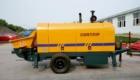 diesel concrete trailer pump