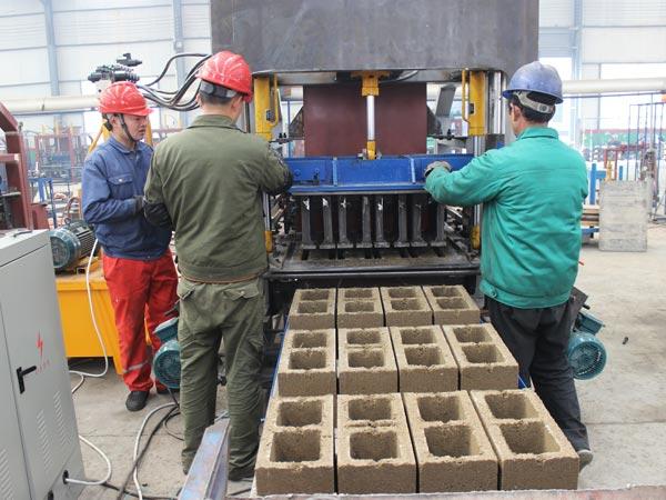 hollow blocks production