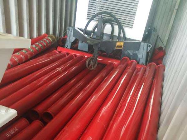 shipment of diesel pump