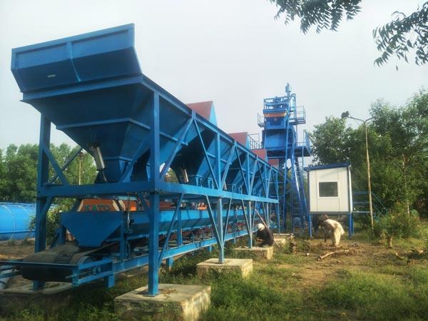 AJ-50 concrete mix plant Pakistan
