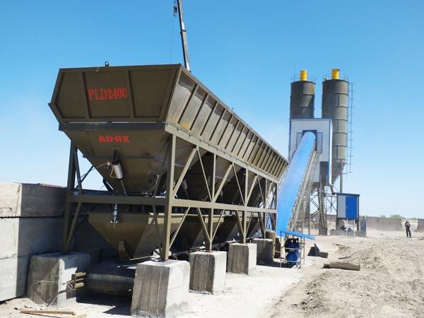 AJ-90 ready mix concrete plant