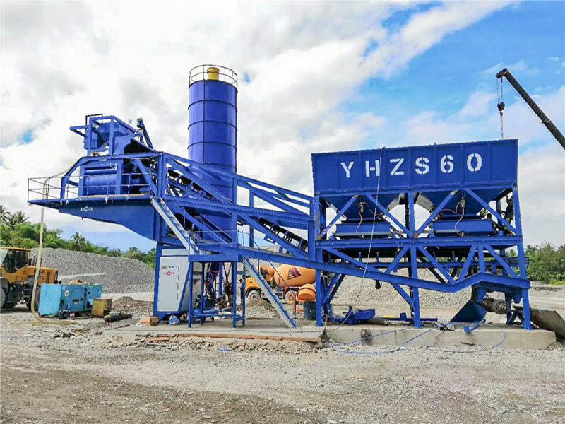 AJY-60 mobile automatic concrete plant