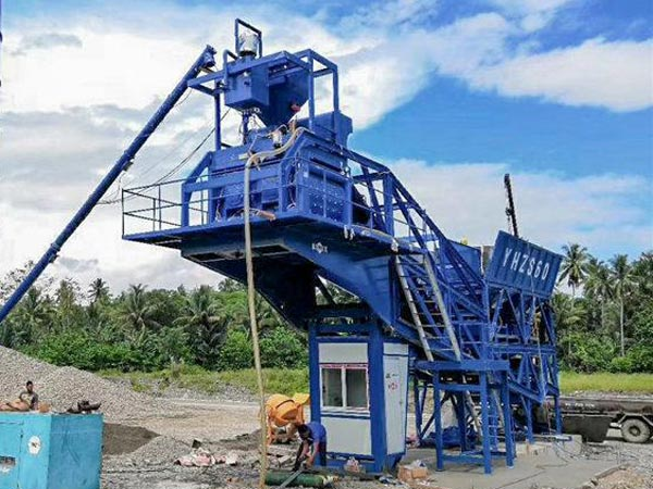 AJY-60 mobile concrete batching plant
