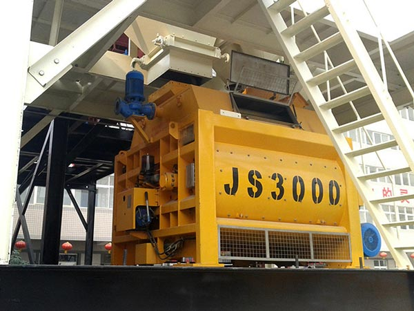 JS3000 double shaft mixer