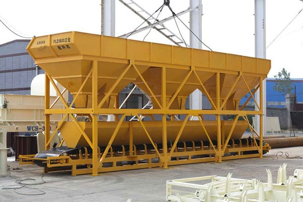 PLD1600 aggregate batching machine