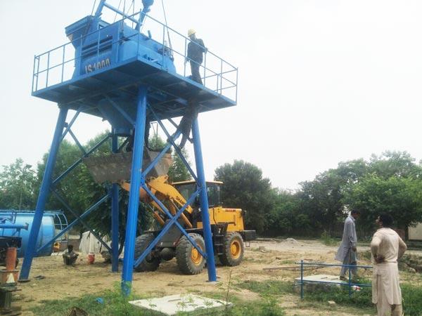 twin shaft mixer