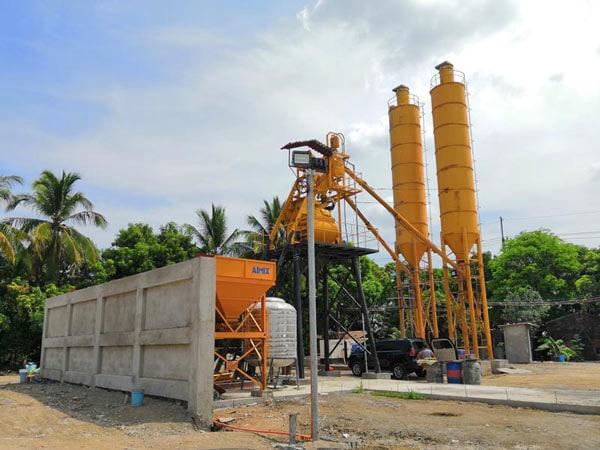 AJ-35 concrete mixing plant