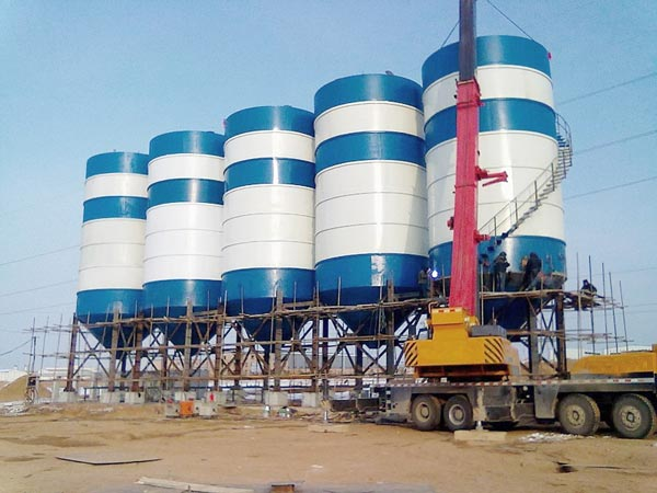 cement silo for concrete plant
