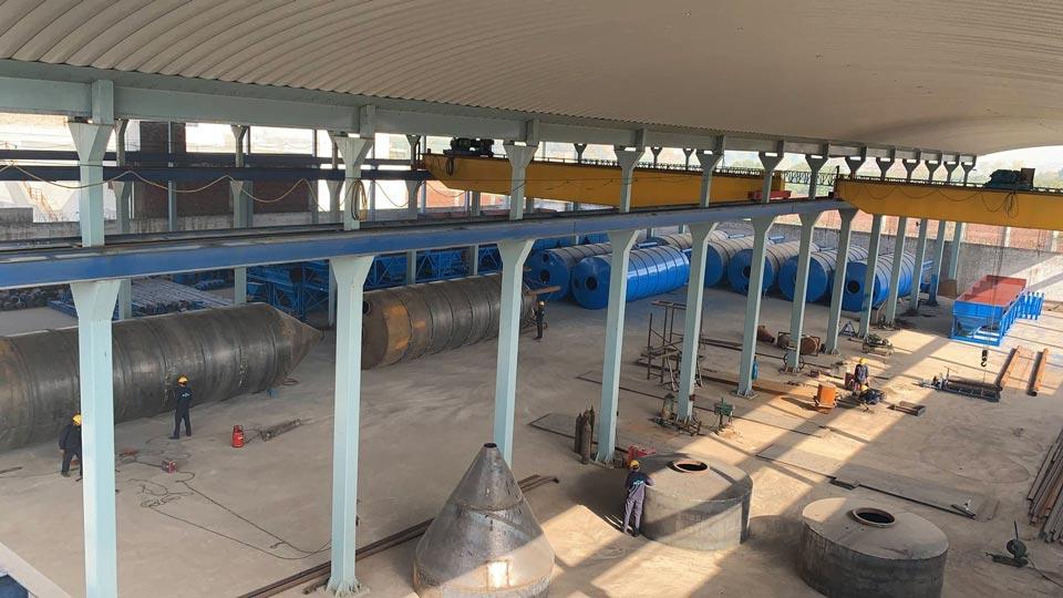 concrete batching plant factory