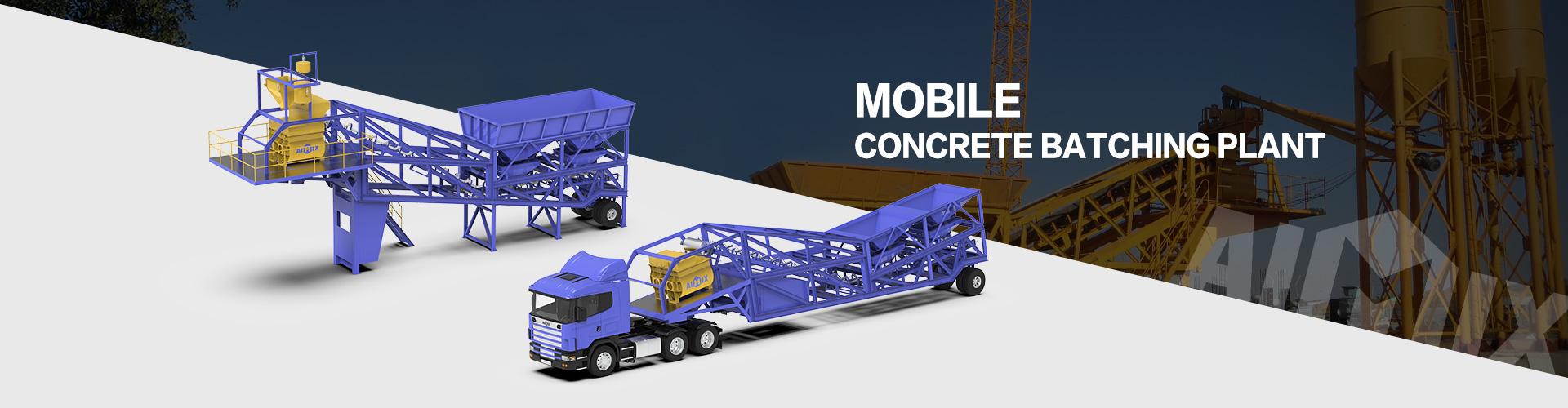 mobile concrete batch plant banner