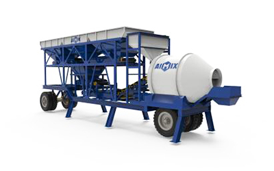 portable mixer plant Pakistan