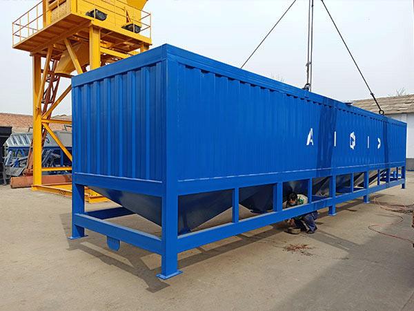 50t horizontal cement silo