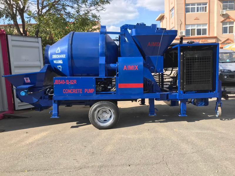 ABJZ40C small diesel mixer pump Pakistan