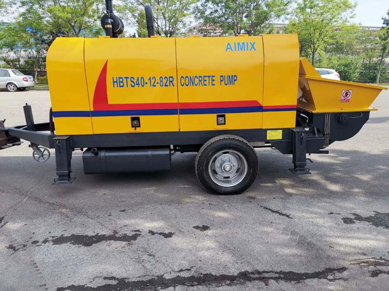ABT40C small concrete pump Pakistan