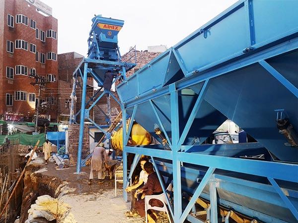 AJ-25 batching plant Pakistan