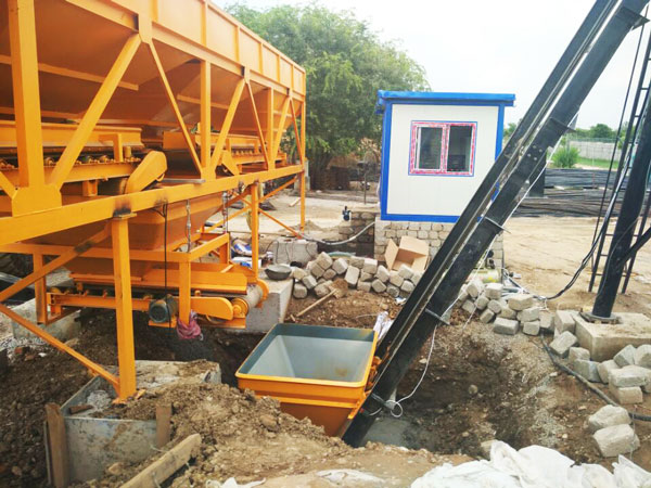 concrete batching machine of concrete plant