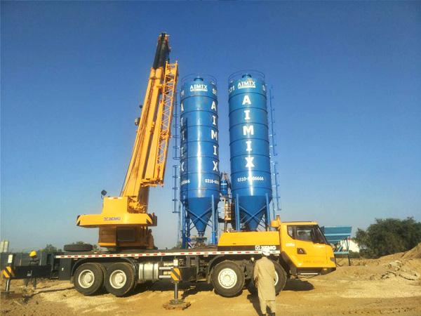 install cement silo Pakistan