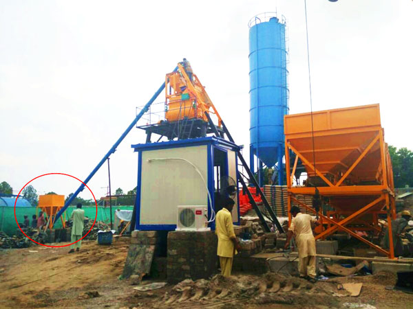 stationary concrete batching plant Pakistan