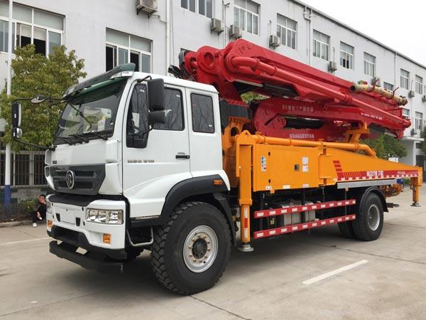 40m concrete pump truck