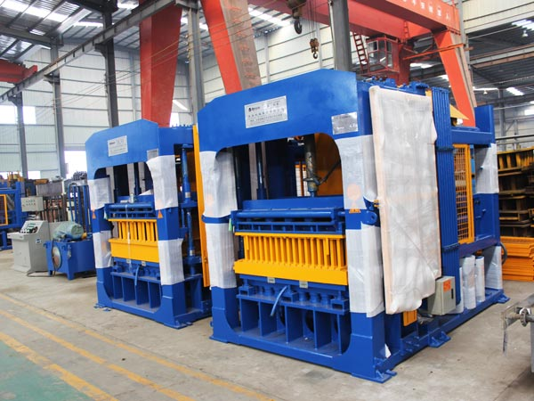 ABM-10S automatic fly ash brick plant