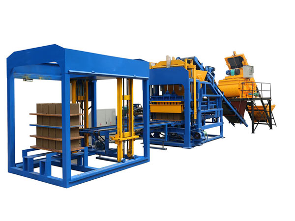 ABM-12S fully automatic fly ash brick making machine