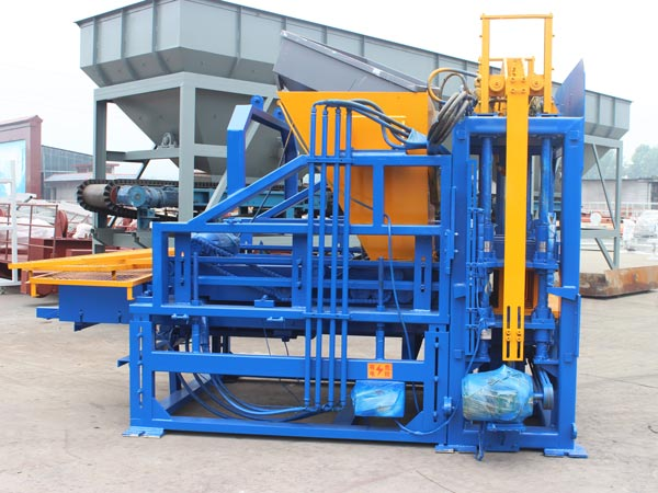 ABM-3S interlocking brick machine Pakistan