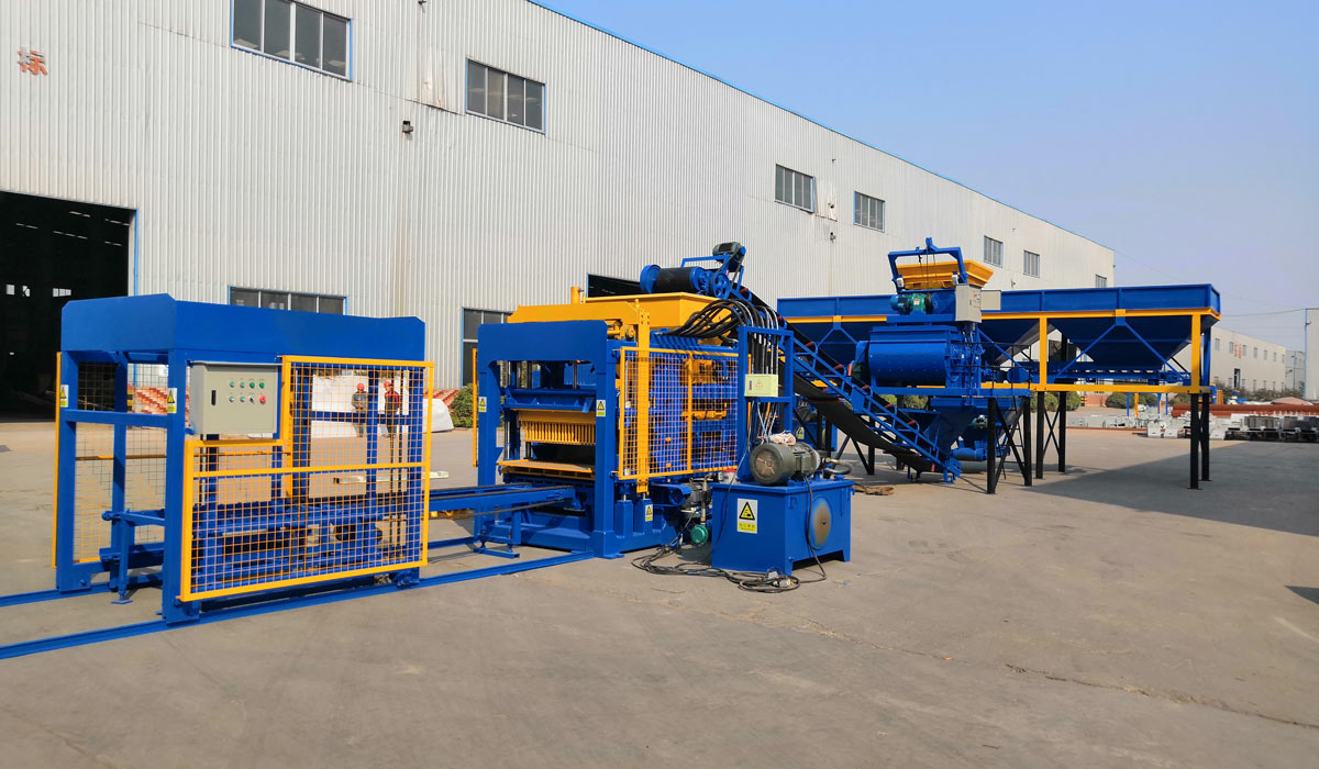 ABM-4S hollow brick maker machine