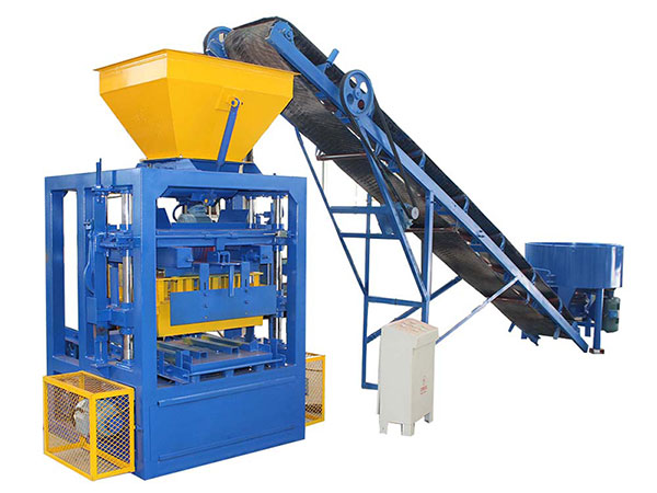 ABM-4SE semi automatic hollow block machine