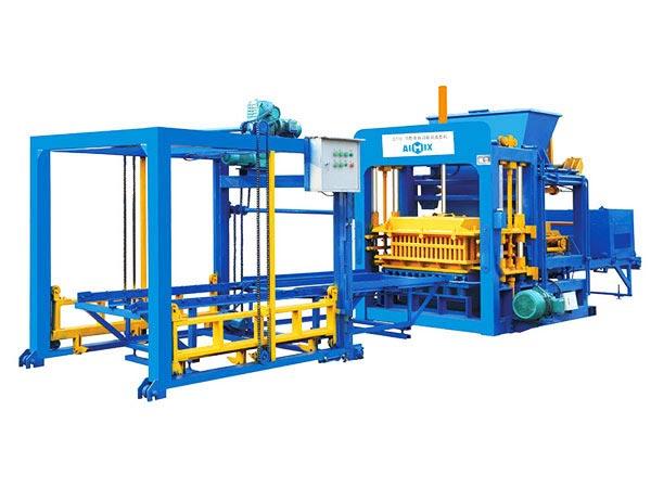 ABM-8S cement block machine