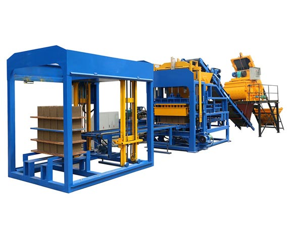 ABM-8S interlocking brick making machine Pakistan