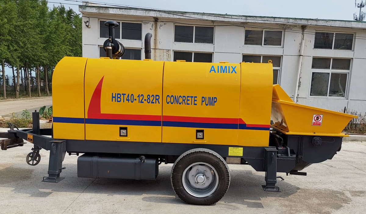 ABT40C diesel concrete trailer pump