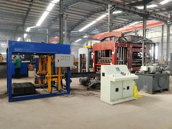 AIMIX automatic block moulding machine factory