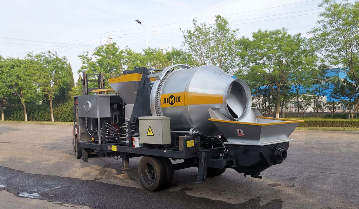 diesel concrete mixer pump Pakistan
