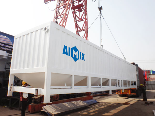 horizontal cement silo for Ivory Coast