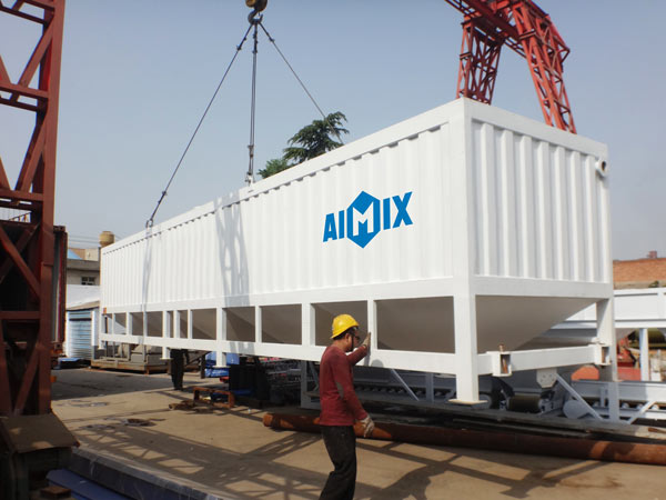 horizontal cement silo to Ivory Coast